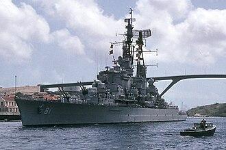 Peruvian Navy - BAP ''Almirante Grau'' (CLM-81) in June 1973