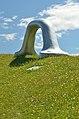 Die Erdkugel als Koffer by Peter Weibel, Österreichischer Skulpturenpark 01.jpg
