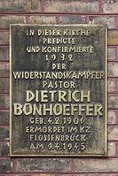 Dietrich Bonhoeffer Gedenktafel Zionskirche Berlin.jpg