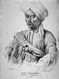 Diponegoro Javanese prince