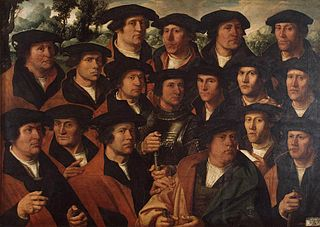 Group Portrait of the Amsterdam Shooting Corporation