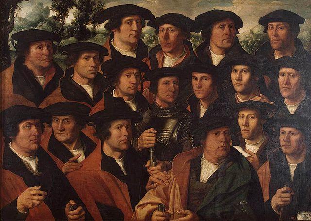 Blogs sur Amsterdam : Portait de la ville et accessoirement toile de Jacobsz