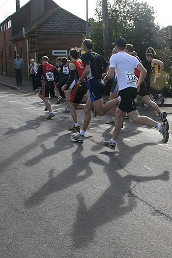 English: Diss Duathlon, High School The first ...