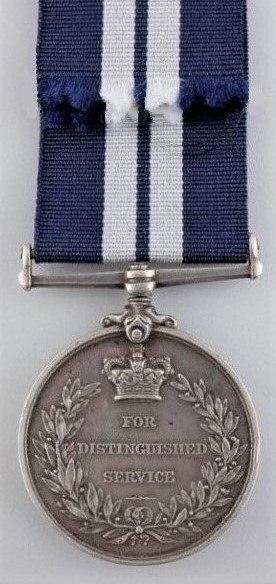 Distinguished Service Medal (UK) Reverse
