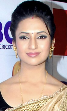 Divyanka Tripathi at the launch of Kolkatta Babu Moshai's dress and anthem for BCL.jpg