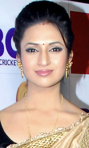 Ye Hai Mohabbatein - Image: Divyanka Tripathi at the launch of Kolkatta Babu Moshai's dress and anthem for BCL