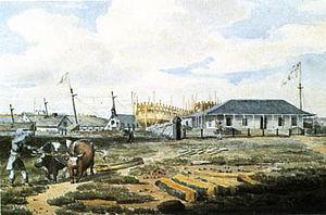 Kingston Royal Naval Dockyard - Image: Dockyard Point Frederick