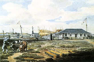 Kingston Royal Naval Dockyard - Image: Dockyard Point Frederick