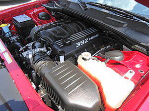 Street & Racing Technology - The 392 HEMI V8 engine used for the Challenger and Charger SRT 392 models.