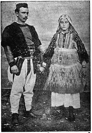 Doksim Mihailović - Doksim and his wife.