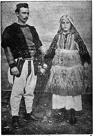 Doksim Mihailović - Doksim and his wife.