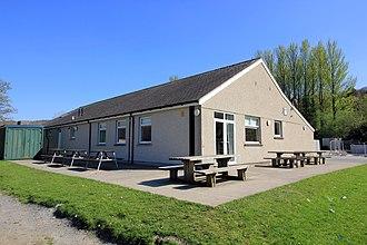 Dolgellau Athletic A.F.C. - Image: Dolgellau AAFC Clubhouse geograph 4452562 by Jeff Buck