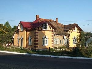 Dolyna - Image: Dolyna Antonovycha st., 32 2