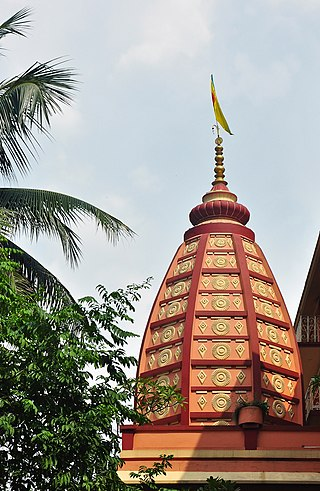 Dome of Sri Krishna Temple, ISKCON, Mayapur.jpg