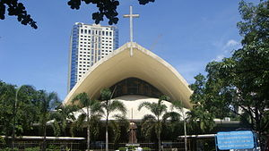Arnaiz Avenue - Saint John Bosco Parish Church