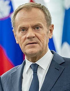 Donald Tusk Polish politician, former President of the European Council, and former Prime Minister of Poland