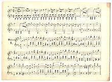 partition de musique definition