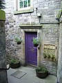 Doorway off St. Leonard's Lane - geograph.org.uk - 1517983.jpg