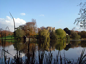 Sherborne Castle - Brown's lake in Digby's garden