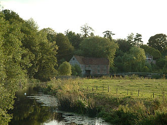 Sturminster Newton - The watermill on the River Stour at Newton.