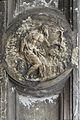 Dorsoduro Chiesa di San Sebastiano medaglione San Girolamo a Venezia.jpg