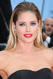 Doutzen Kroes Dutch model and philanthropist