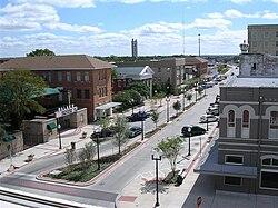 Downtown Bryan, 2009