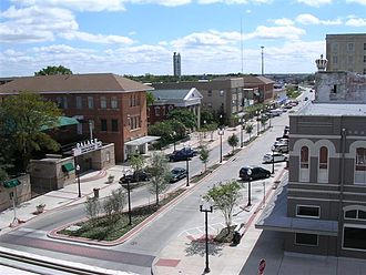Bryan, Texas - Downtown Bryan, 2009