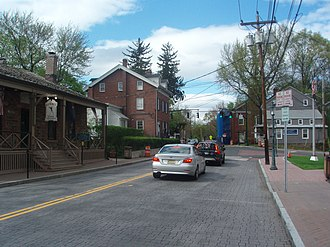 Tappan, New York - Main Street In Tappan