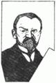 Dr. August Harambašić (karikatur) 1907 Hrvatska smotra.png