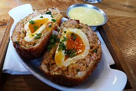 image illustrative de l'article Scotch egg
