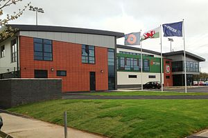 Welsh Football Trust - Dragon Park, Wales National Football Development Centre, Newport