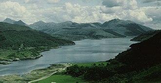 Loch Sunart - Image: Dramatic Scenery at Loch Sunart geograph.org.uk 1659920