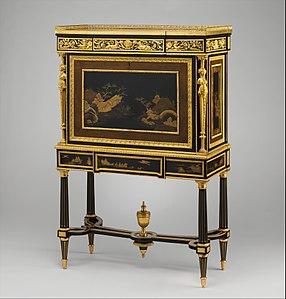 Drop Front Desk By Adam Weisweiler C 1790 Metropolitan Museum