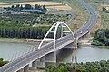 Dunaújváros, Pentele híd légi felvételen.jpg