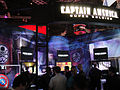 E3 2011 - Captain America- the First Avenger booth (Sega) (5822680778).jpg