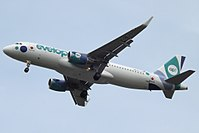 EC-LZD - A320 - Evelop Airlines