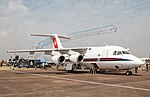 EGVA - BAe 146 CC2 - Royal Air Force - ZE700 (43113914484).jpg