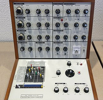 Modular synthesizer - EMS Synthi (VCS 3) II