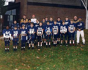 Eaglebrook School - 1996 football team