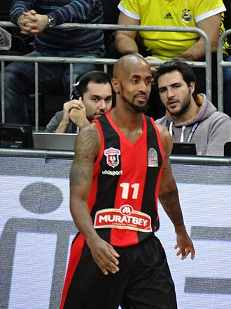Earl Calloway - Calloway with Uşak Sportif in 2017