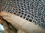 Eastern riveted hood detail