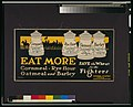 Eat more cornmeal, rye flour, oatmeal, and barley-Save the wheat for the fighters LCCN2002699351.jpg