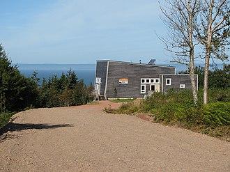 Eatonville, Nova Scotia - Eatonville Interpretation Centre in 2009