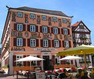Eberbach (Baden) - Hotel Karpfen