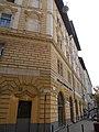 Eclectic corner house. Listed ID 1040. Csarnok Square & Gönczy Pál St. cnr - 1-3, Gönczy Pál St., 7, Lónyay St., Csarnok Square, Budapest District IX.JPG