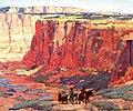 Edgar Payne Edgar Payne Canyon Riders.jpg