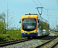 Edingen-Neckarhausen - Edingen West - Bombardier RNV6 - RNV 4135 - 2016-05-01 14-25-51.jpg