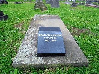 Edmonia Lewis - Edmonia Lewis' grave after restoration