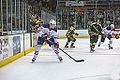 Edmonton Oilers Rookies vs UofA Golden Bears (15275351465).jpg